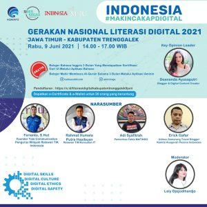 Ferianto Sebagai Narasumber Webinar Nasional Trend Pekerjaan dan Usaha di Dunia Digital
