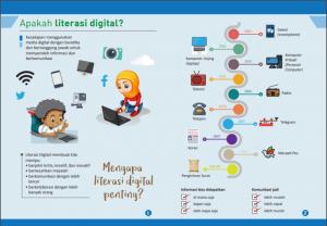 Relawan TIK Menyelenggarakan Literasi Digital